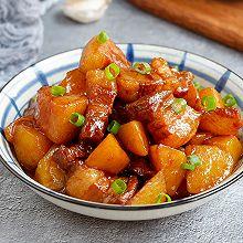 红烧肉炖土豆#就是红烧吃不腻!#