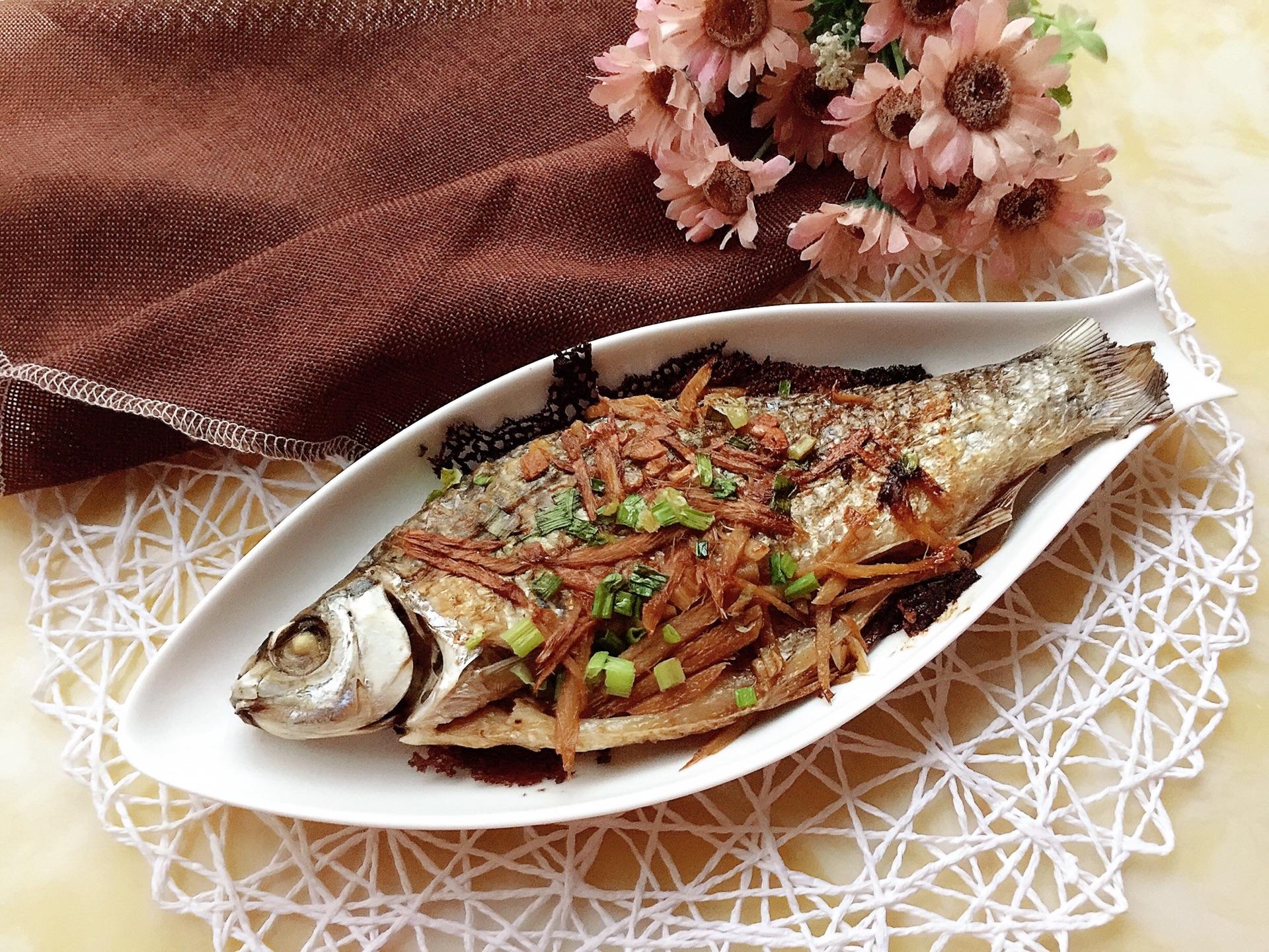 香煎鲮鱼的做法图解9