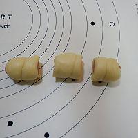迷你肠仔面包卷(一次发酵)的做法图解8
