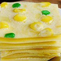 清香怡人——鸡蛋玉米豌豆饼的做法图解9