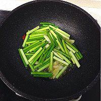 蒜苔肉丝的做法图解5