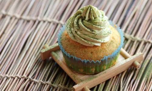 [烘焙系列]抹茶杯子蛋糕 #特百惠龙卷风佳作#的做法