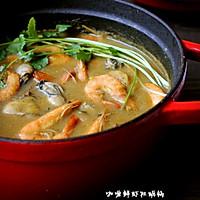 咖喱鲜虾牡蛎锅的做法图解15