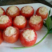 猪肉土豆酿西红柿的做法图解6