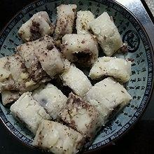红豆糯米卷