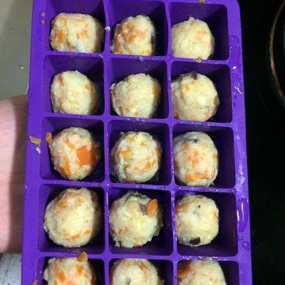 西贝妈妈辅食(龙利鱼香菇胡萝卜丸)10个月+