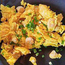 #巨下饭的家常菜#虾仁滑蛋