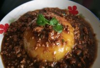 肉沫土豆泥的做法
