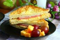 火腿西多士#百吉福芝士面包#的做法