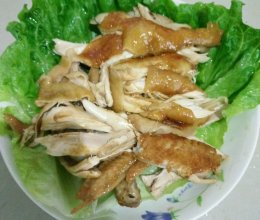 电饭煲酱油手撕鸡的做法