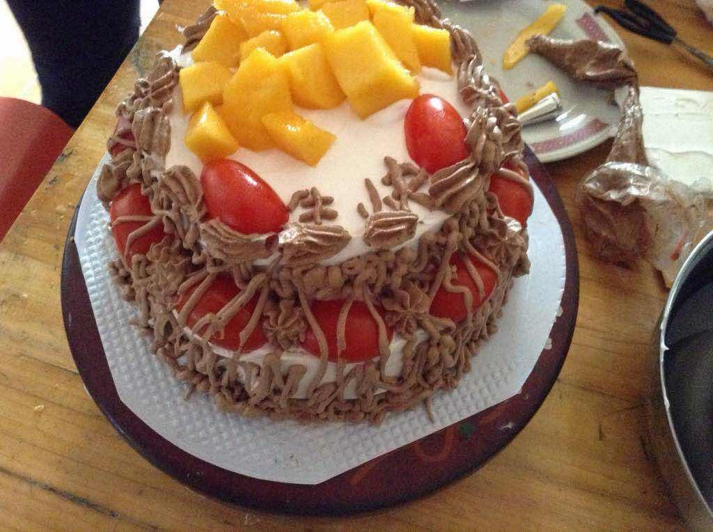 6寸欧式蛋糕图片