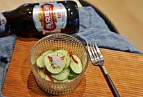 燕京U8啤酒渍黄瓜的做法
