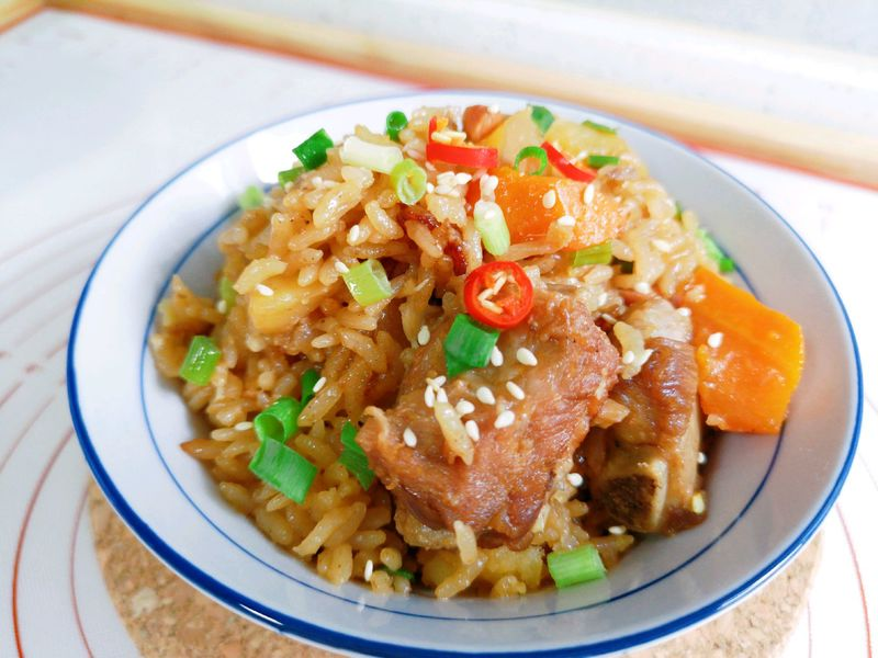 猪肉土豆可以珠海排骨焖饭吃了吗图片