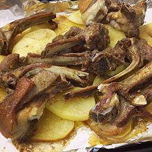 超好吃的土豆烤羊排