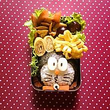 哆啦A梦日式便当儿童佐食野餐便当#自己做更健康#
