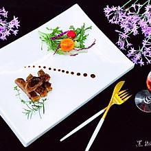 黑椒牛排&蔬菜沙拉