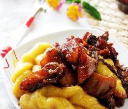 梅干菜腊鱼贴卷子的做法