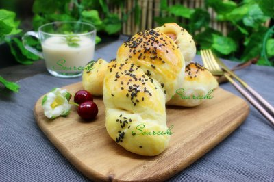 热狗面包卷
