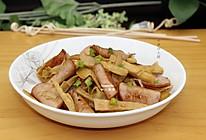 竹笋炒火腿的做法