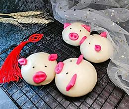 小猪馒头的做法