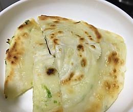 饺子皮葱油饼(懒人版)的做法