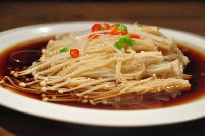 【变厨神】清淡养生 白灼金针菇