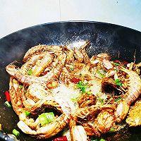 #餐桌上的春日限定#椒盐濑尿虾(椒盐皮皮虾)的做法图解6