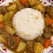 好吃的椰浆咖喱牛肉饭