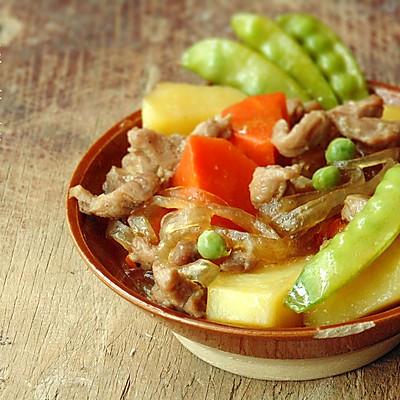 日式猪肉炖马铃薯(肉じゃが)