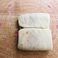 咸蛋黄肉松吐司的做法图解10