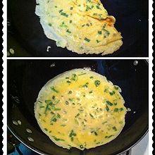 小葱鸡蛋饼