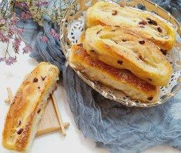 蔓越莓砂糖面包卷
