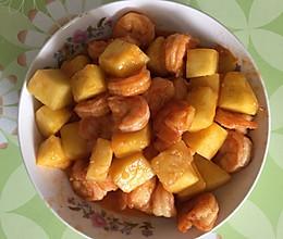 菠萝虾的做法