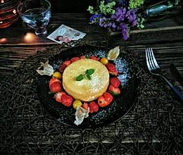 #春季食材大比拼#水果伴蛋糕的做法