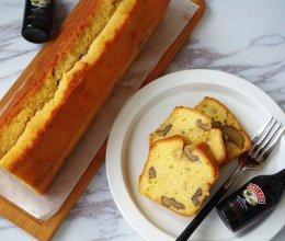 百利甜酒核桃磅蛋糕#美的烤箱菜谱#的做法