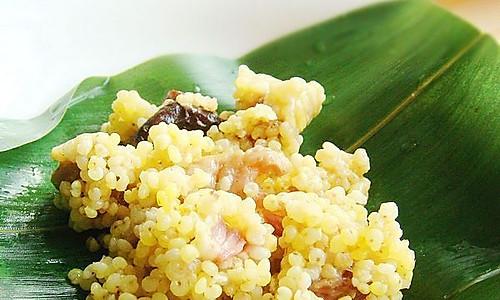黄米粽香鸡的做法