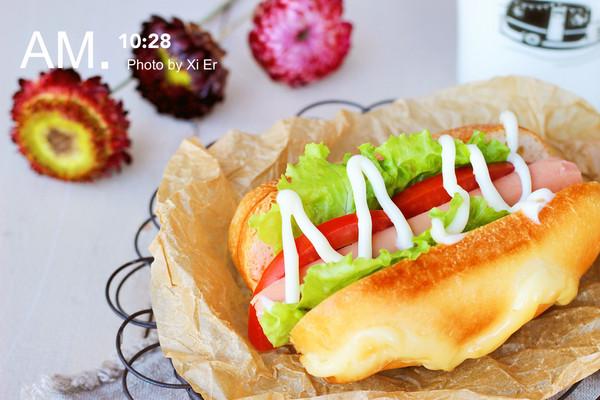沙拉热狗包#丘比轻食厨艺大赛#的做法