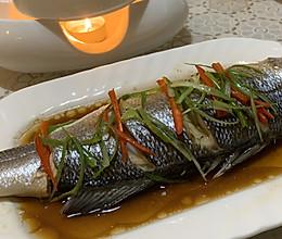 【荼蘼美食】清蒸海鲈鱼的做法