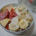 酸奶蔬果捞