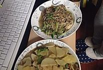 金针菇炒肥牛的做法