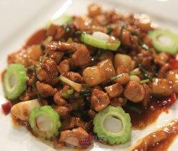滑炒鸡丁—《顶级厨师》压力测试的做法