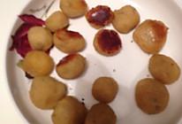 红薯球。红薯片的做法