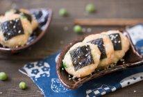 海苔豌豆虾饼的做法