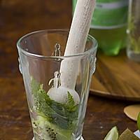 Mojito kiwi 饮料的做法图解2