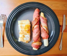 脆香培根裹娇甜白芦笋的做法