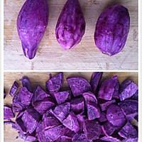 QQ糯糯椰蓉-芒果、紫薯、红豆沙-糯米糍的做法图解1