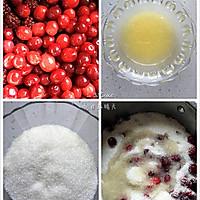 蔓越莓覆盆子果酱的做法图解1