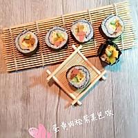 蛋黄肉松紫菜包饭(家常)