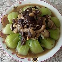 蚝油香菇油菜