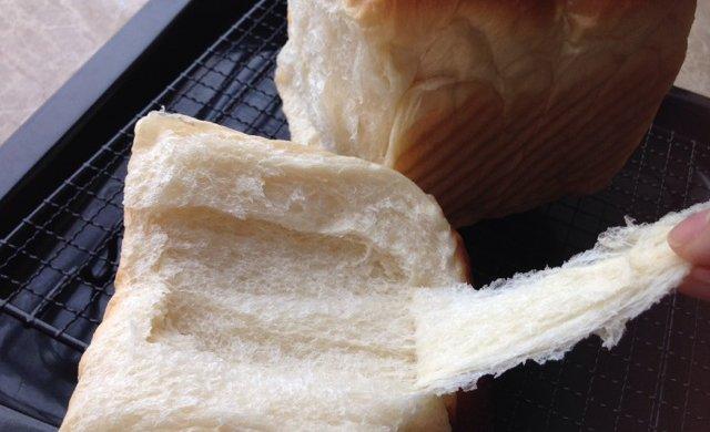 冷藏中种北海道吐司~面包机揉面